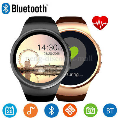 Waterproof Bluetooth Smart Watch Phone Mate SIM GSM for Samsung iPhone KW18