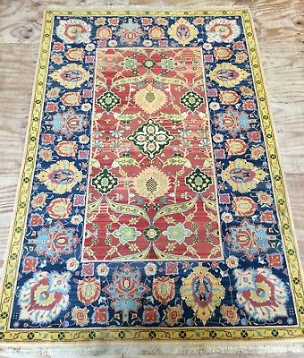 Vintage Beautiful Indian Hand Woven Carpet