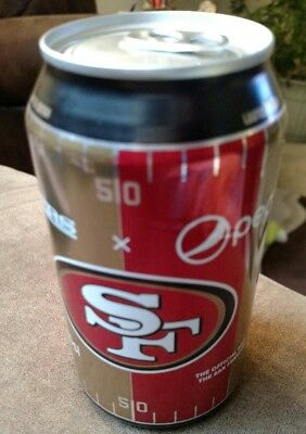 Nfl San  Francisco 49ERS 12 oz Pepsi Can football new just released collectible
