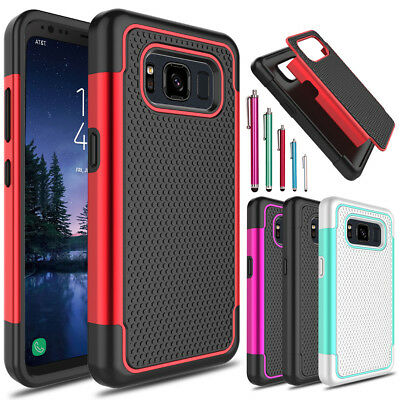 For Samsung Galaxy S8 Active Shockproof Hybrid Impact Hard Slim Phone Case Cover