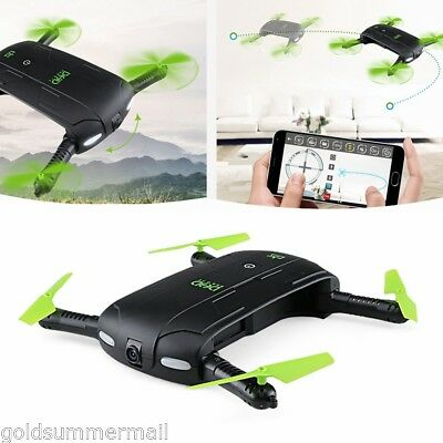 DHD D5 RC Mini Quadcopter Wifi FPV 480P Cam Foldable Selfie Drone 6-Axis Gyro