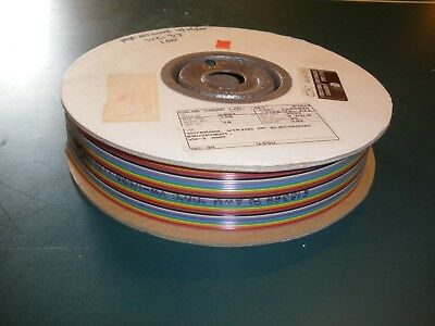 34 conductor ribbon cable (10ft lengths) 28 AWG