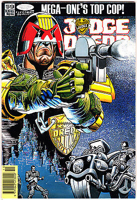 Judge Dredd #59 (1986 Series) , 1st Print , 2000AD , Quality Comics , VERY FINE