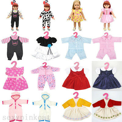 "Fits 18"" American Girl Madame Alexander Handmade Fashion Doll Clothes Dress Hot"