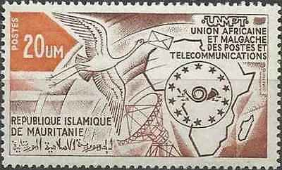 Timbre Communications Mauritanie 309 * lot 22160