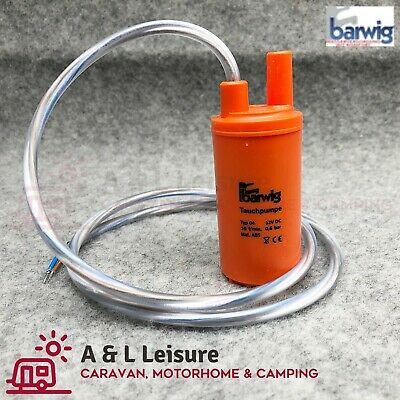 Caravan, Motorhome, Boat Submersible Water Pump 10Lt/Min Submersible Pump 12V dc