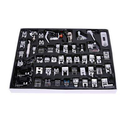 Home Sewing Machine Foot Tools Accessory Kit Set 52pcs for Brother Singer Janome