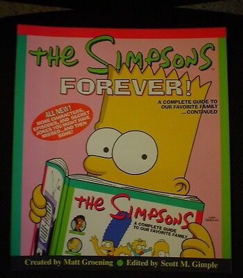 The Simpsons Forever Complete Guide Book 1St Edition 1999
