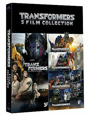 TRANSFORMERS - 5 MOVIE COLLECTION (5 DVD) Mark Wahlberg