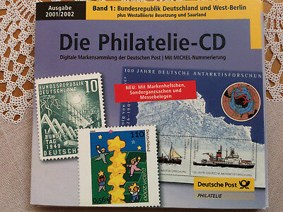 Philatelie CD 2001/2002 Bundesrepublik Deutschland & West Berlin