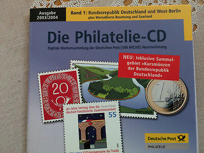 Philatelie CD 2003/2004 Bundesrepublik Deutschland & West Berlin