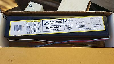 Advance RC-2S102-TP For (2) F48T12/VHO or SHO Fluorescent Ballast Type 1,120Volt