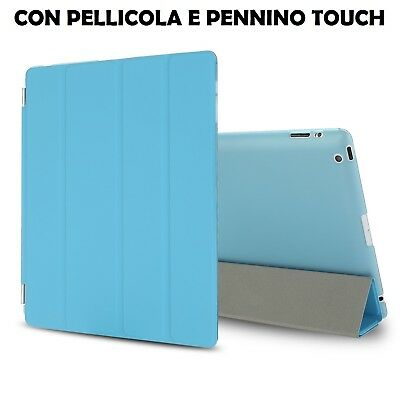 Custodia Smart Cover per Apple iPad 2/ iPad 3/ iPad 4 Retina +Pellicola+Pennino