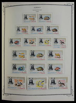 Lot 27558 Collection stamps of Arab States 1964-1968.