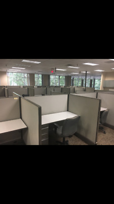 Herman Miller A02 Call Center Office Modular Cubicles (147 Units) 4X5