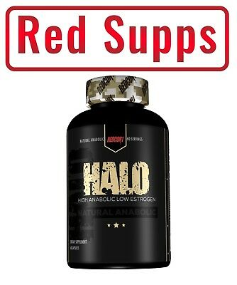 REDCON1 HALO 60caps High Anabolic Improves Nitrogen Retention Protein Synthesis