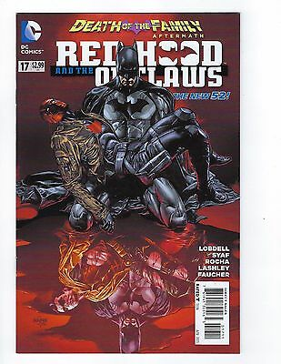 """Red Hood & the Outlaws # 17 Regular Cover """"Death of the Family"""" NM DC New 52 N52"""