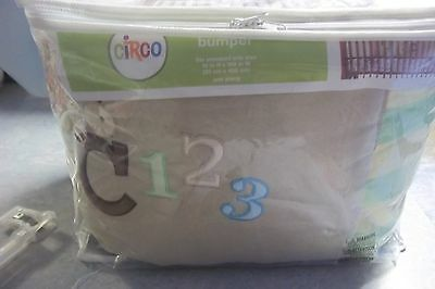 Crib Bumper Pad In Pkg,multi Color