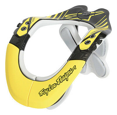 Alpinestars Troy Lee Designs BNS Tech Brace Motocross Dirtbike - Carbon Yellow