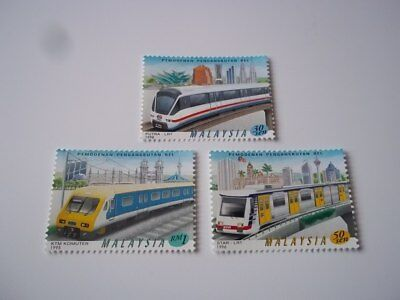 Malaysia Trains stamps (3). Mint-NH.