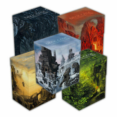 Ultimate Guard Deck Cases 80+ Lands Edition 5 Boxen als Länderset inkl Divider