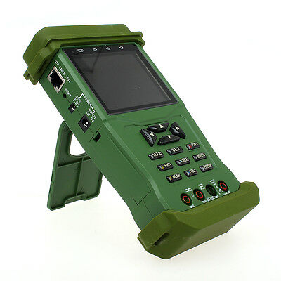 """K625P 3.5"""" inch TFT LCD Color Camera Video CCTV Tester Analogy PTZ DC 9V Stand"""