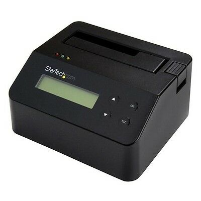 StarTech.com Hard Drive Eraser and Dock - For 2.5in/3.5in SATA SSD/HDD - 4Kn
