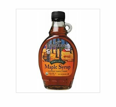 236ml COOMBS FAMILY FARMS 100% Organic Pure Maple Syrup Grade A  Amber