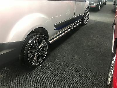 FORD TRANSIT CUSTOM  Side Step Bar Running Board S.Ste SHORT  WHEEL BASE
