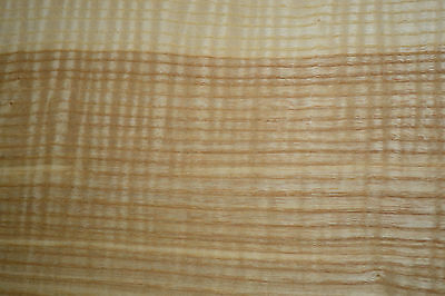 Olive Ash Raw Wood Veneer Sheets 7 x 36 inches 1/42nd thick              4496-11