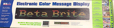 NEW - Beta Bright Electronic Message Display