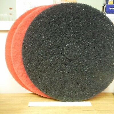 "PRO-LINK Floor Buffer Scrubbing Pads 9/LOT! 20"" Diameter-About 7/8""/1"" Thickness"
