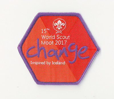 15th World Scout Moot Official Participant Badge