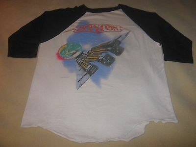 Boston 1987 Original Vintage Concert Tour Shirt* Large* Third Stage Tour**rare**