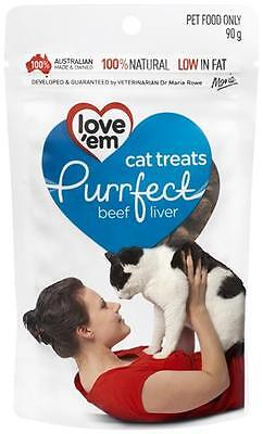 Love'em Purrfect Beef Liver Cat Treats Pet Supplies