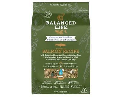 Balanced Life - Air Dried Raw Salmon Dog Treats Pet Supplies