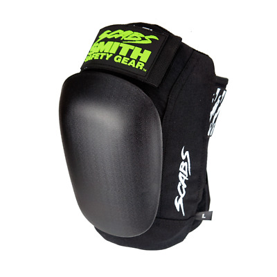 Smith Knee Protective Pad Set - Scabs - Black Large