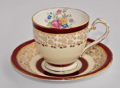 Pretty Vintage Royal Grafton Demitasse Cup & Saucer #6731 (multiple avail)