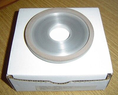 "New Inland D12A2 B2-4396-1500 Diamond Grinding Wheel 4"" x 1/4"" x 1-1/4"""