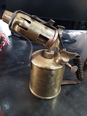 Max Sievert Stockholm Sweden Brass Blowtorch