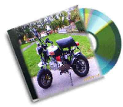 resale business vintage mini motorbike plans dvd rom package