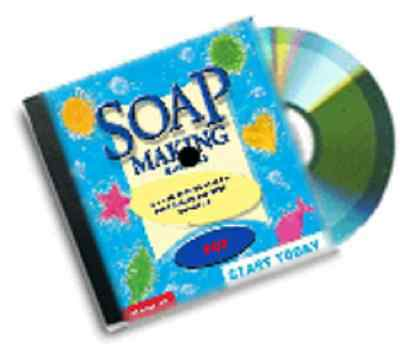 hand made soap making guide business from home dvd rom package