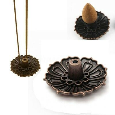 DIY 9 holes Flower Incense Burner Cone Holder Plate for Stick and Cone Incense