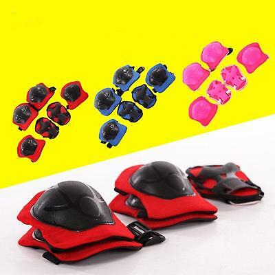 New Kid 6PCS skating protective gear Safety Children Knee Elbow Pads Set