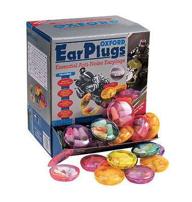 Oxford Motorcycle Ear Plugs Anti-Noise Two Pairs Pack Pvc Free Protective Case