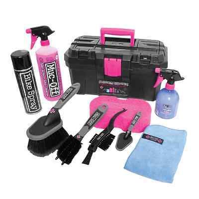 New Muc-Off Motorcycle Bike Cleaning Care Brush Ultimate Cleaning Kit - M285