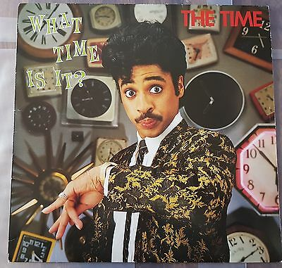 THE TIME - WHAT TIME IS IT? EX+/ EX+ vinyl LP - 1ST PRESSING 1982 - PRINCE