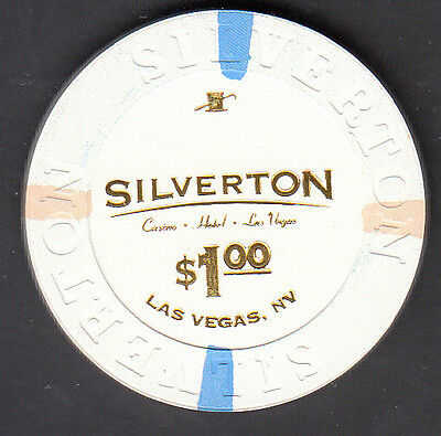 $1 Silverton Las Vegas Nevada House Chip