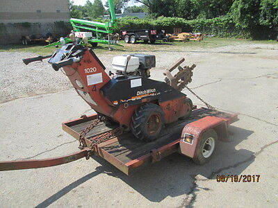 Trencher Ditch Witch 1020 With Trailer