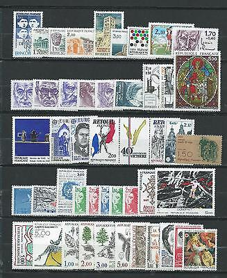 France Luxe  Annee  Complete 1985  Neufs  **